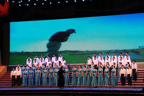 蘇州工業園区党創立90周年記念紅歌会